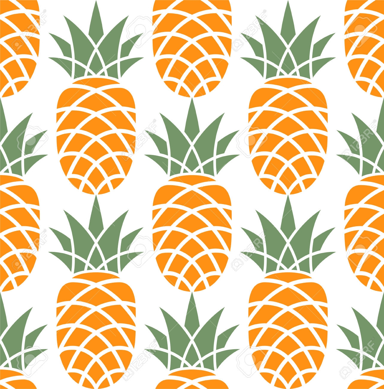 30898747-Motif-ananas-Banque-d'images