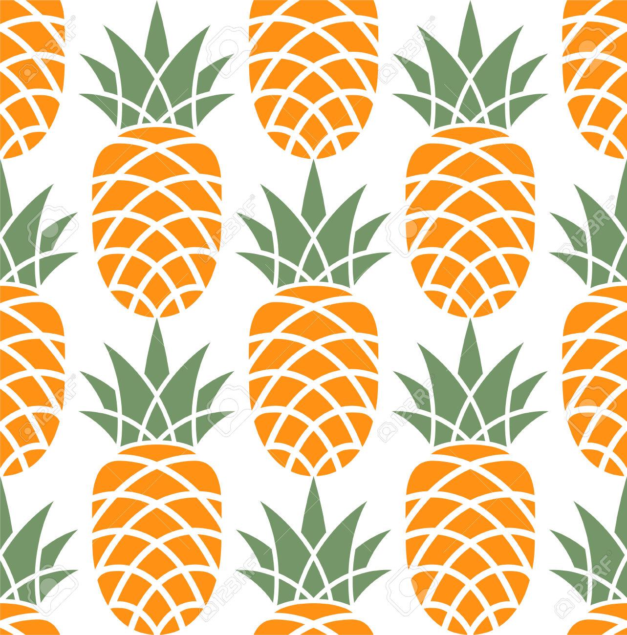 30898747-Motif-ananas-Banque-d'images