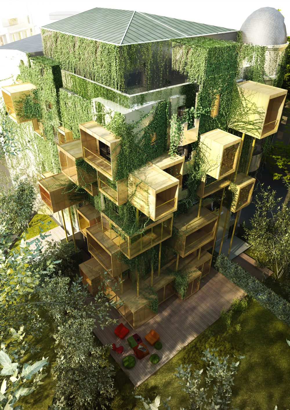 Une architecture du futur for Architecture du futur